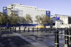 加拿大使馆在伦敦,英国,英国 免版税库存图片