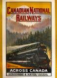 加拿大全国铁路 免版税图库摄影