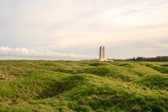 加拿大全国Vimy里奇纪念品在法国 免版税库存图片