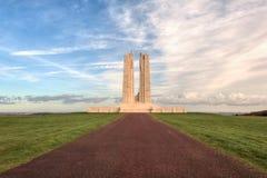 加拿大全国Vimy里奇纪念品在法国 库存图片