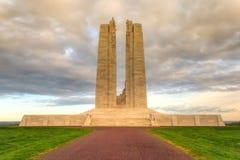 加拿大全国Vimy里奇纪念品在法国 免版税图库摄影