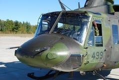 加拿大军用直升机 库存照片