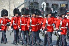 加拿大军队 免版税库存照片