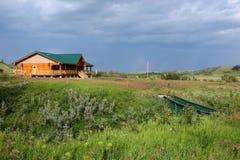 加拿大农舍 库存照片