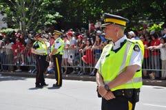 加拿大卫兵警察 库存照片