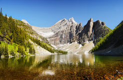 加拿大原野,班夫国家公园 免版税库存图片