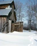 加拿大县lanark安大略棚子糖 免版税库存照片