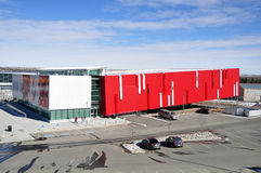 加拿大名望大厅s体育运动 免版税图库摄影