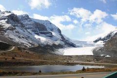 加拿大哥伦比亚Icefield 免版税库存图片