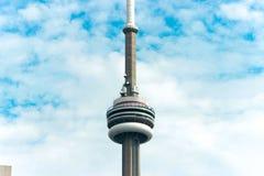 加拿大国家电视塔在多伦多加拿大 图库摄影