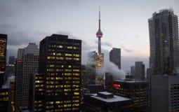 加拿大国家电视塔 库存照片