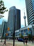 加拿大国家电视塔TOTONTO 免版税库存照片