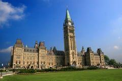 加拿大国家议会s 免版税图库摄影