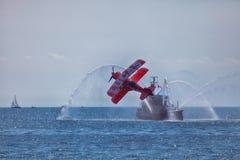 加拿大国际飞行表演 免版税库存图片