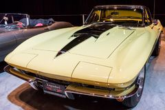 加拿大国际AutoShow在多伦多 库存照片