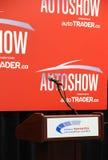 加拿大国际AutoShow阶段 免版税图库摄影