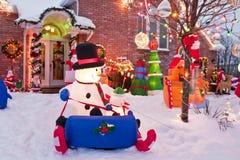 加拿大圣诞节 免版税库存图片