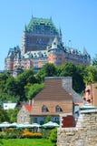 加拿大城堡魁北克 免版税图库摄影