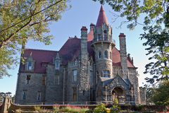 加拿大城堡craigdarroch维多利亚 免版税库存照片