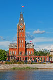 加拿大大厅城镇 免版税库存照片