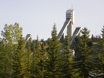 加拿大奥林匹克公园在卡尔加里 库存照片