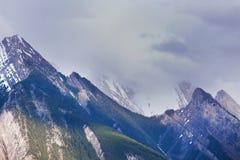 加拿大山 免版税库存图片