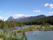 加拿大山 库存图片
