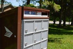 加拿大岗位邮箱 免版税库存照片