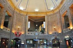 加拿大市魁北克火车站 库存照片