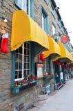 加拿大市魁北克 图库摄影