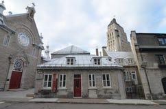 加拿大市魁北克 库存图片