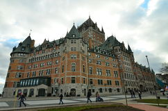 加拿大市魁北克 库存照片