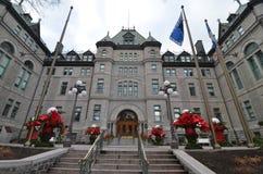 加拿大市魁北克 免版税库存图片