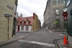 加拿大市魁北克 免版税库存照片