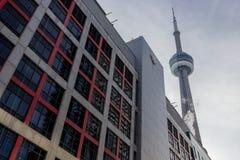 加拿大广播公司CBC的安大略总部 图库摄影