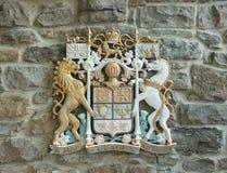 加拿大徽章 免版税库存照片