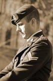 加拿大战士 图库摄影