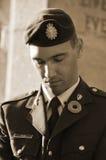 加拿大战士 免版税库存照片