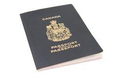 加拿大护照 图库摄影