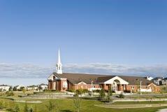 加拿大教会 库存图片