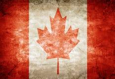 加拿大旗子 库存图片