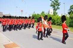 加拿大更改的卫兵渥太华 库存照片