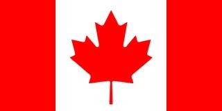 加拿大标志 库存照片