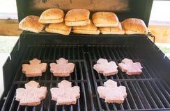 加拿大汉堡包 免版税库存照片