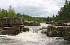加拿大河 库存图片