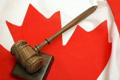 加拿大法律 图库摄影
