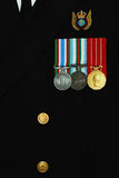 加拿大海军统一 库存照片