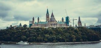 加拿大渥太华议会 免版税库存照片