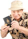 加拿大游人 免版税库存图片