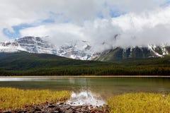 加拿大湖 免版税库存照片